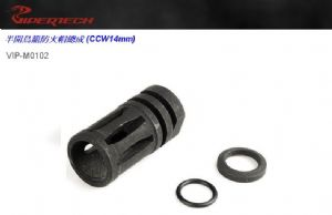 Viper Tech M16A2 Steel Flash Hider Assembly (CCW 14 mm)